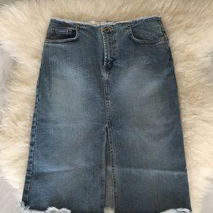 Girls Bluenotes jeaneswear stretch denim skirt